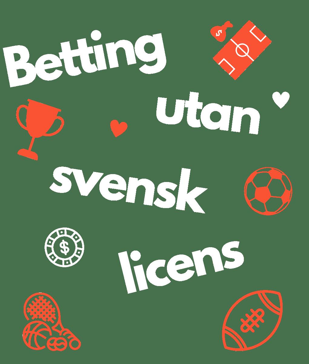 Betting utan svensk licens